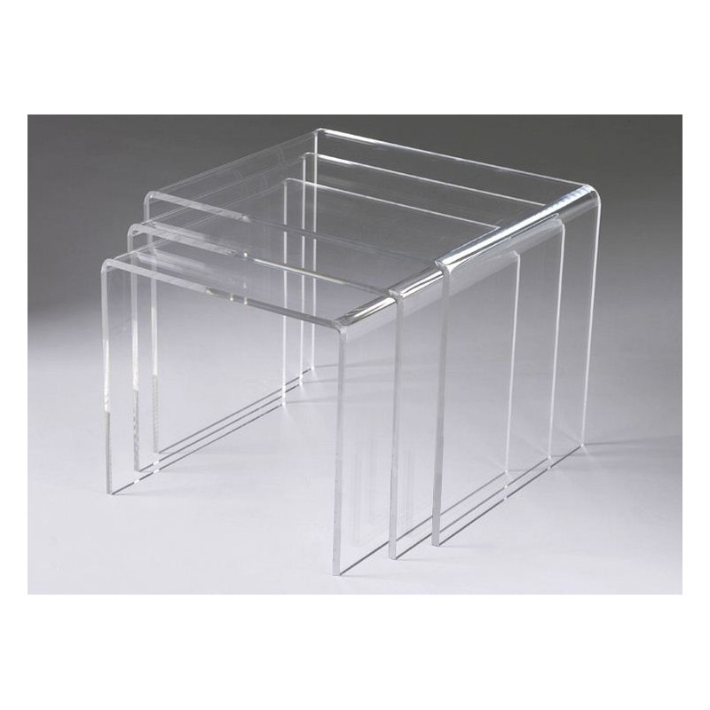 Table gigogne triade david lange decodirect - Table gigogne transparente ...