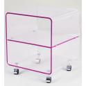 Meuble de chevet Cube David Lange