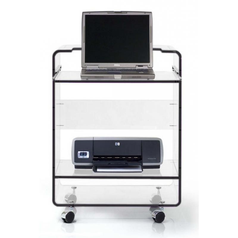 Meuble ordinateur bugg david lange decodirect for Meuble pour imprimante