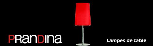 Lampes de table-chevet Prandina