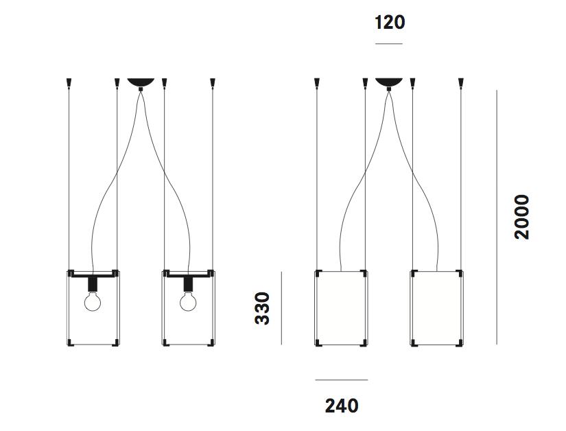 Suspension CPL S11 Prandina