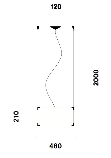 Suspension CPL S7 Prandina