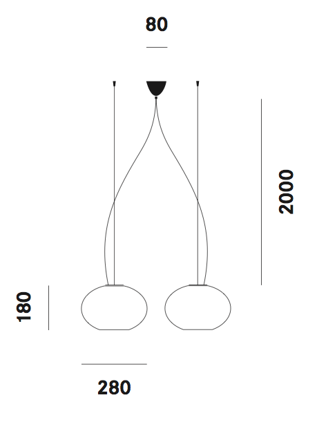 Dimension suspension Zero S33 Prandina