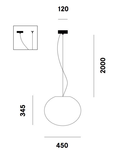 Dimension suspension Zerodieci S7 Prandina